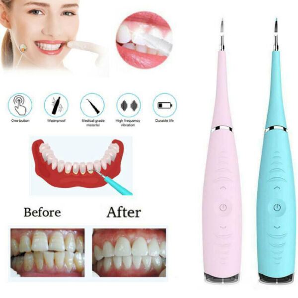 Dental Sonic Ultrasonic Scaler Tooth Whitening Cleaning Tartar Plaque Remove