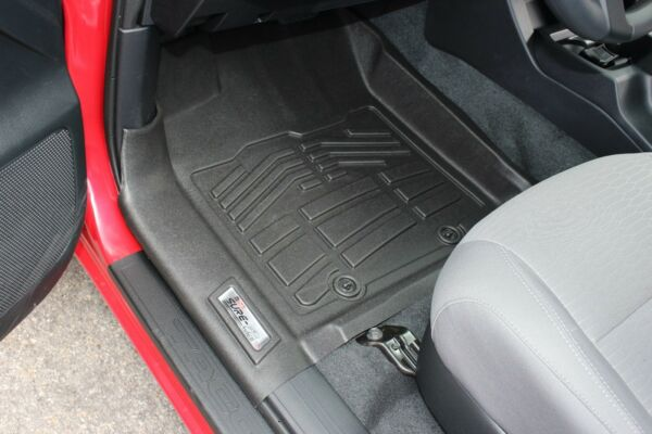 Front Sure Fit Floor Mats: 2016 2018 Toyota Tacoma Double Access Standard Cab $86.99