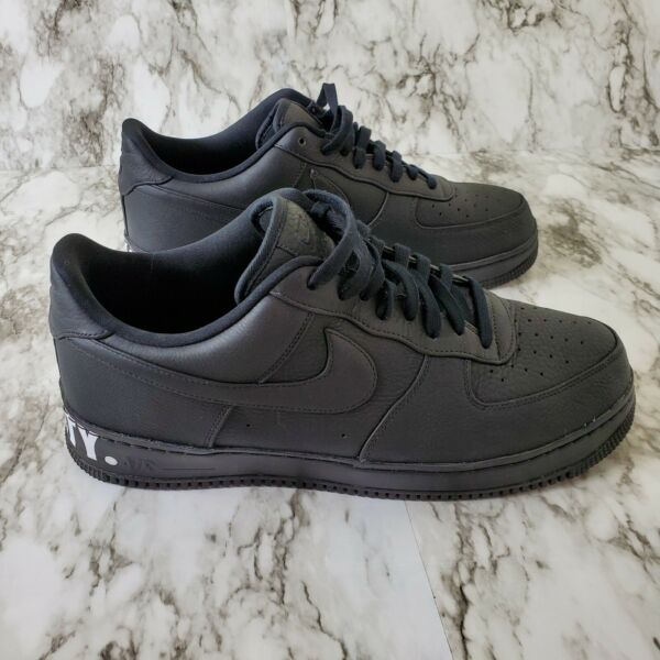 "Nike Air Force One Sneakers Mens Size 15 Black ""Equality"" Black History Month"