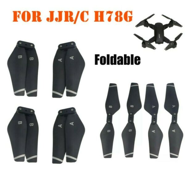 4PCS Drone Foldable Propellers Blades For JJRC H78G WIFI FPV RC Quadcopter Drone