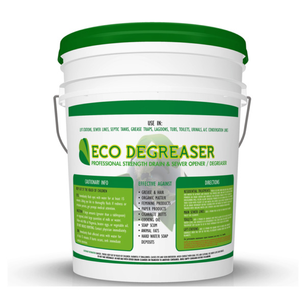 Eco Degreaser: Granular Sewer and Lift Station Cleaner
