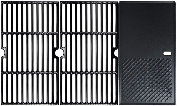 Grill Cooking Grates And Griddle 3Pcs 16 7 8quot; For Charbroil Kenmore Master Chef