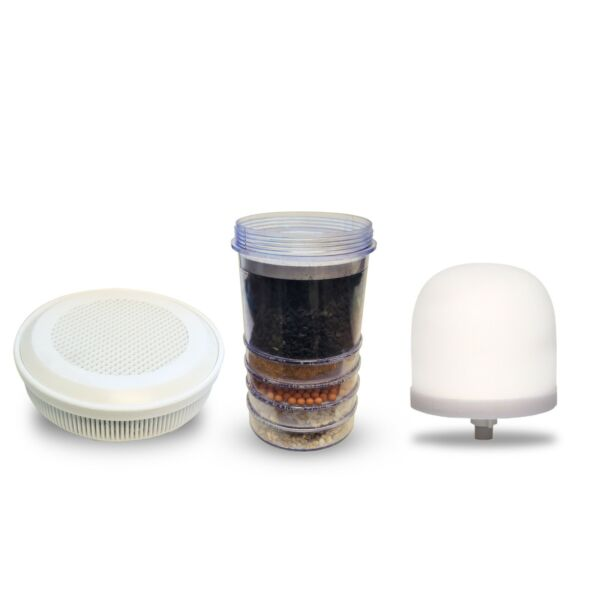 3 Pk Zen Water System Ceramic Dome Multi Carbon and Mineral Filter $52.95