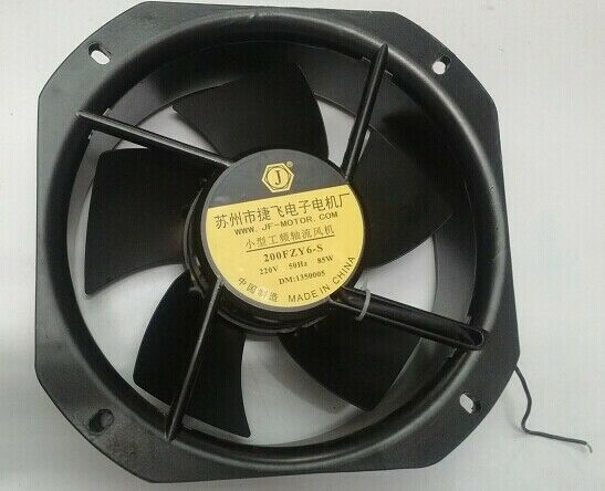 new original Jiefei 200FZY6-S 220V small power frequency axial fan cooling fan