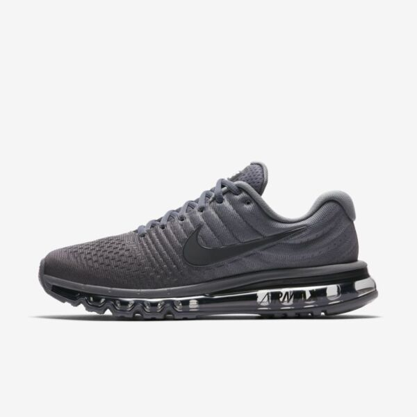 Nike Air Max 2017 Cool Grey Anthracite Dark Grey 849559-008 Men's Running Shoes