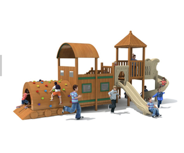 30x20x15 Outdoor Playground ASTM Commercial Playset Equipment Slide We Finance