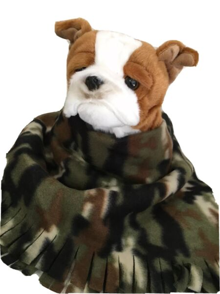 CAMOUFLAGE GREEN Fuzee Fleece Dog Blankets Soft Pet Blanket Throw $14.40