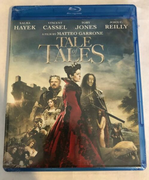 TALE OF TALES Brand New Sealed Blu-ray Salma Hayek Shout Factory John C. Reilly