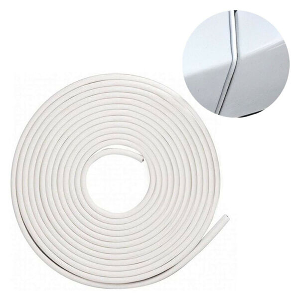 16Ft White Car Door Edge Guard Trim Molding Protector Auto Strip Moulding Guards