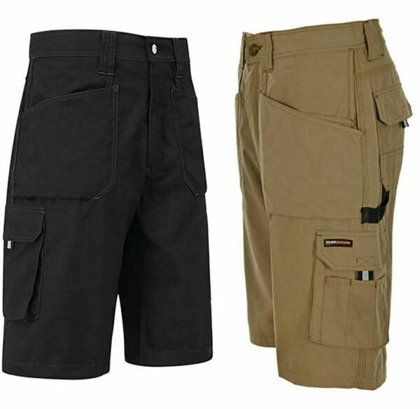 New Mens Endurance Work Shorts With Holster Pockets Adult Summer Wear Half Pants