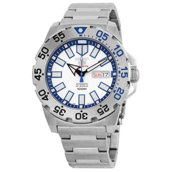 Seiko Baby Monster Automatic Stainless Steel Men's Watch SRP481