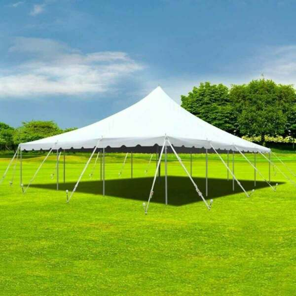 30x40' Pole Tent Sectional Premium Party Event Canopy Commercial Wedding Marquee