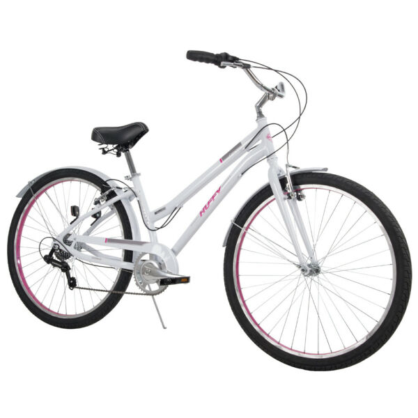 Huffy Comfort Hybrid Bikes 27.5 inch Casoria Lightweight, Blue or White NEW