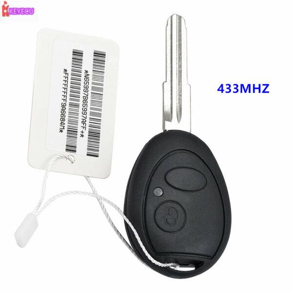 Aftermarket for Land Rover Rover 75 433MHZ Remote Key Valeo 73370847C CE 0165 $23.67