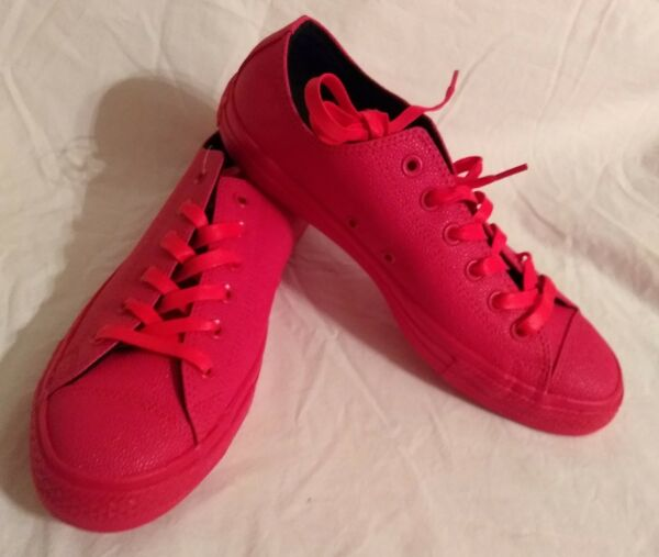 CONVERSE ALL STAR HOT PINK SNEAKERS