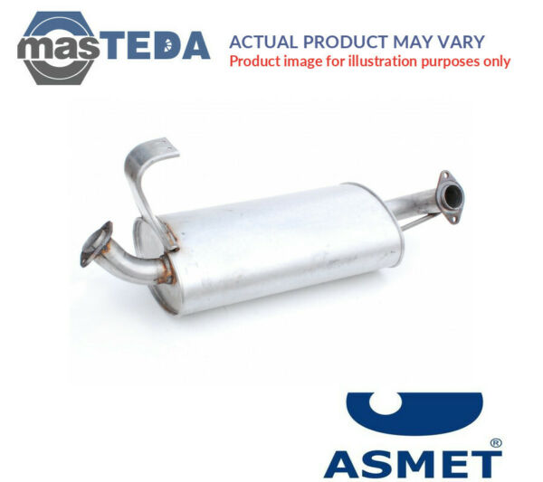 ASMET CENTRE EXHAUST SYSTEM MIDDLE SILENCER 09066 I NEW OE REPLACEMENT