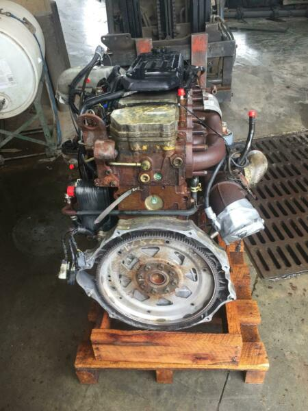 2004 DODGE 2500 PICKUP Engine 5.9L (diesel) VIN C (8th digit High Output)