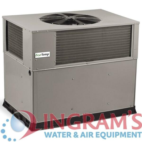 EcoTemp 14 SEER 4 Ton Heat Pump Package Unit WPH4484000RKBTP $2729.87