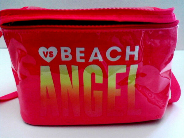 VICTORIA'S SECRET VS SUMMER HOT PINK LUNCH PAIL INSULATED NEW LADIES  GIRLS DIVA