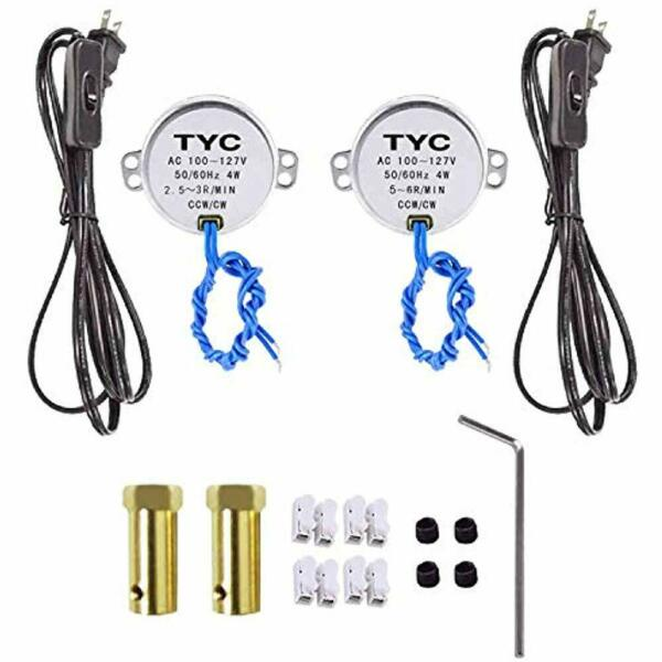 Synchronous Turntable Motor Electric For Cup Turner Cuptisserie Tumbler With -