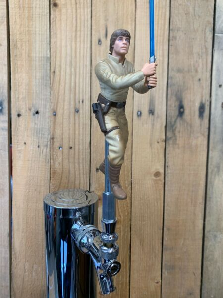 STAR WARS Tap Handle Luke Skywalker Beer KEG Pull Knob EMPIRE STRIKES BACK Saga