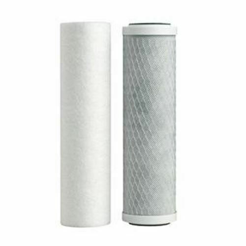 Dual Stage Drinking Water Filter Replacement Set Sediment amp; Carbon Filters $18.95