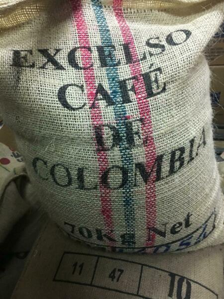 5 LB COLOMBIA COLOMBIAN EXCELSO UNROASTED GREEN COFFEE BEANS ARABICA