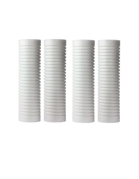 """4 Pack Water Filter 5 Micron 10"""" x2.5"""" Cartridge Replacement Whirlpool WHKF GD05 $15.50"""