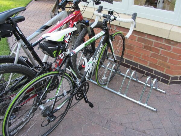 4 Section stand alone cycle rack bike rack storage by BWT GBP 34.95