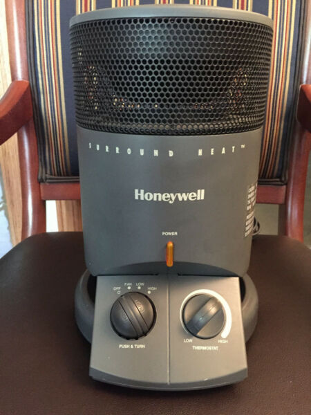 Honeywell 360 degree SURROUND HEAT™ HEATER Fan HZ 2200 $43.21