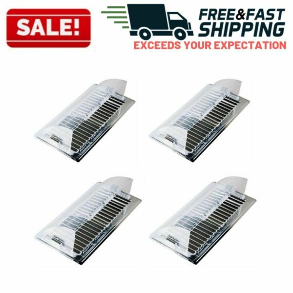 Air Vent Deflector Adjustable Deflect Heat Cold Wall Floor Ceiling AirDuct Cover
