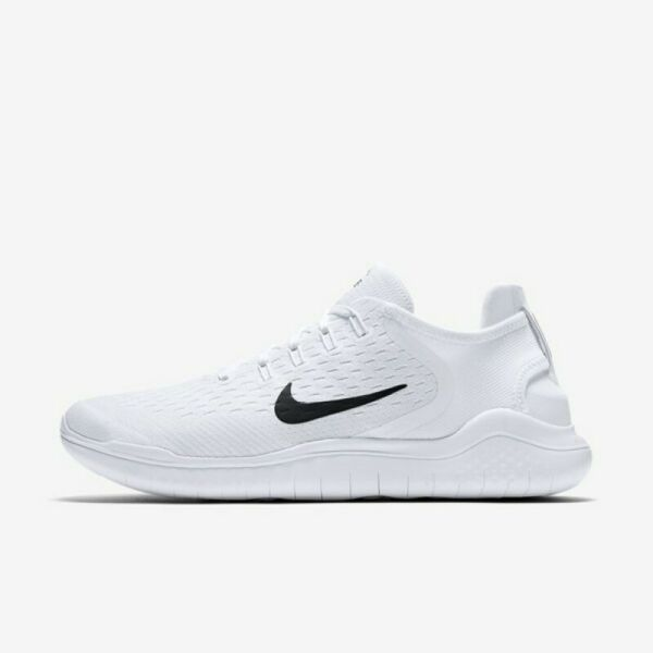 Nike Free RN 2018 White Black 942836-100 Men's Running Shoes NEW!