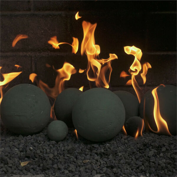 Ceramic Fire Balls  Indoor & Outdoor Fire Pits or Fireplaces
