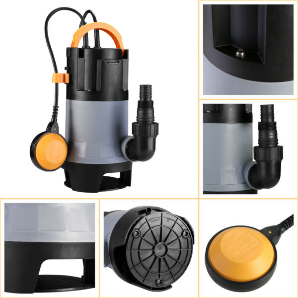 DEKO 1981GPH 400W 12HP Sump Pump CleanDirty Submersible Water Pump