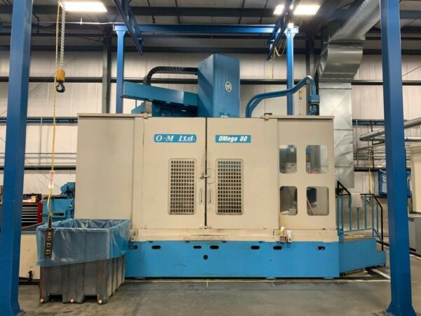 OM Omega 80 CNC Vertical Turning Center