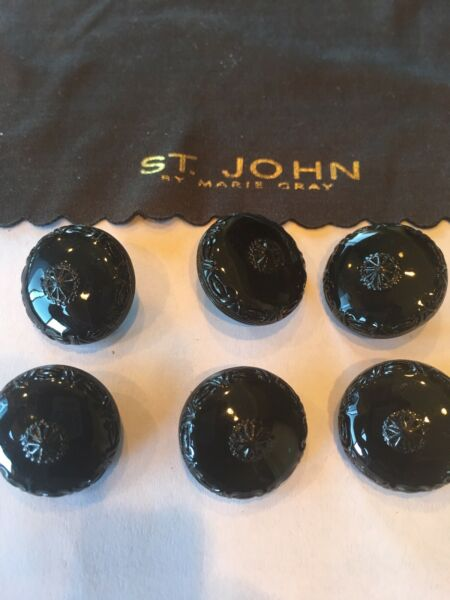 6 St John Replacement Buttons