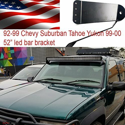 88 89 90 91 98 Chevy C K Truck Roof Mount Bracket for 52quot; Curved led light Bar $22.00