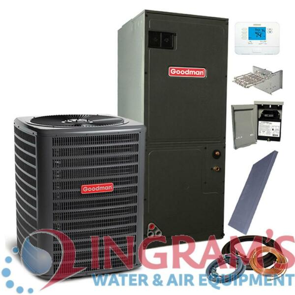 2 Ton 14 SEER Goodman Air Conditioner Split GSX140241 ARUF31B14 w Install Kit $1712.00