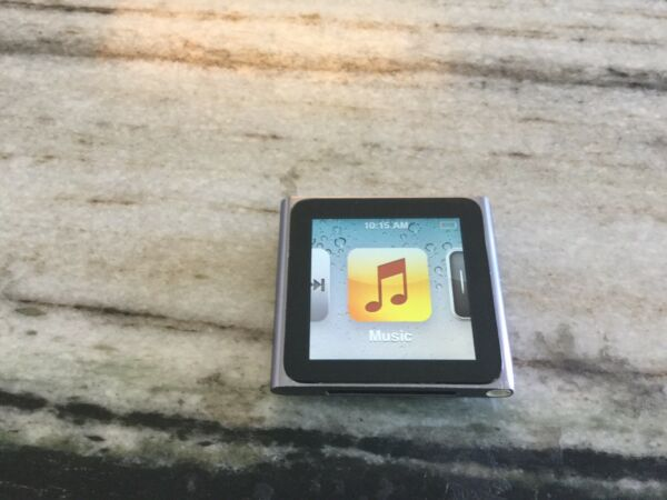 Apple iPod nano 6th Generation Graphite (8 GB) New Screen New Battery. Nice!