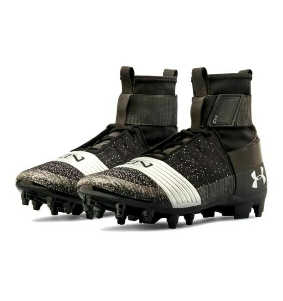 Under Armour C1N MC LE Football//Lax Cleats WITH BOX 1289764-500 8.5 10 13