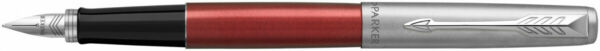 Parker Jotter Fountain Pen Kensington Red Chrome Trim Gift Boxed