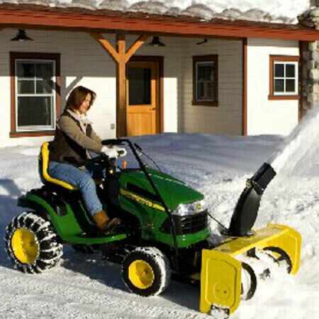 John Deere 44-inch Snow Blower for 100 Series Tractor - 7005M