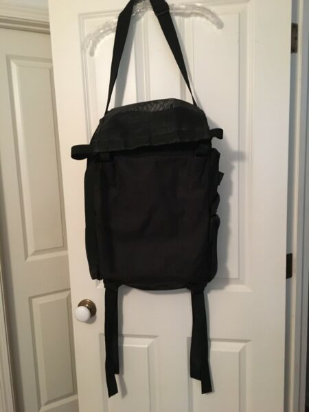 T BAG MOTORCYCLE LUGGAGE UNIVERSAL EXPANDABLE $40.00