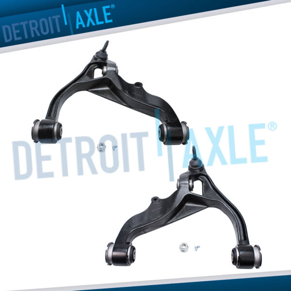 4WD Front Lower Control Arms + Ball Joints for 2006 2007-2017 Dodge Ram 1500