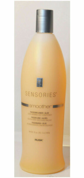 Rusk Sensories Smoother Anti Frizz Leave In Conditioner 33.8oz NEW