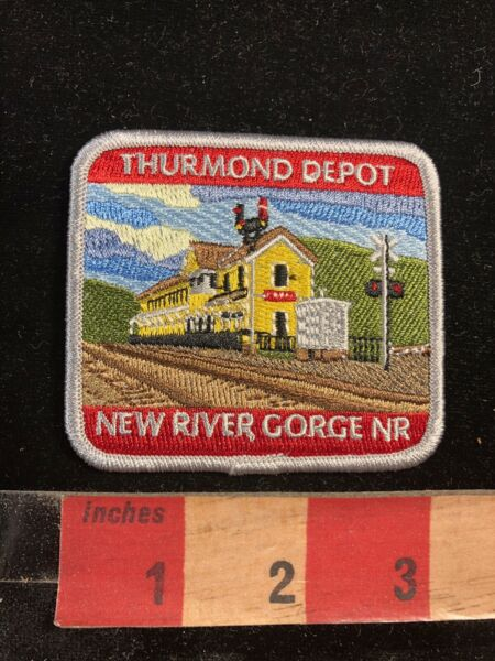 Train THURMOND DEPOT NEW RIVER GORGE NATIONAL RIVER  West Virginia Patch 98N6