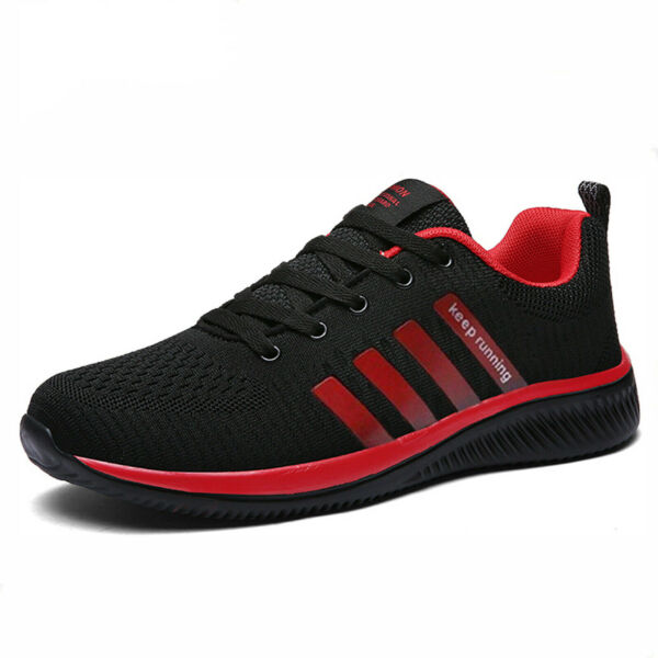 Men's Sneakers Breathable Running Tennis Athletic Walking Trainer Shoes Gym US