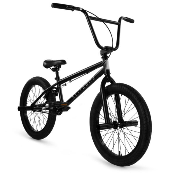 Elite BMX 20quot; Bike Stealth Freestyle Black All New 2020 $249.00