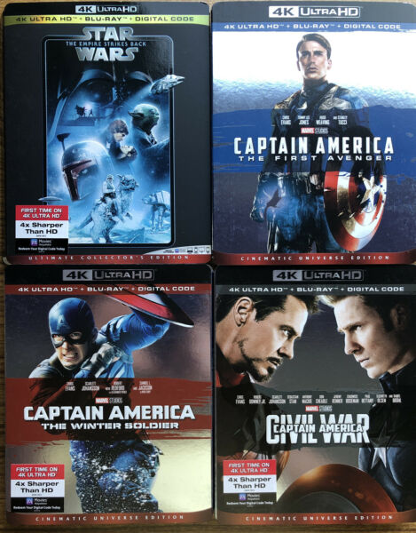 Bluray amp; 4K Slipcovers only Star Wars Disney Marvel more NEW PHOTOS ADDED $10.00