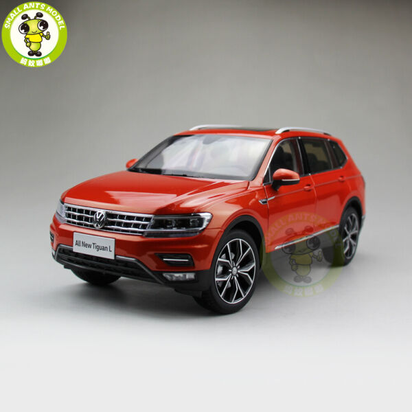 1 18 VW Volkswagen Tiguan L Diecast Metal SUV CAR MODEL Toys Kids gifts Orange $105.00